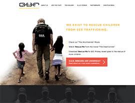 Operation Underground Railroad website screenshot