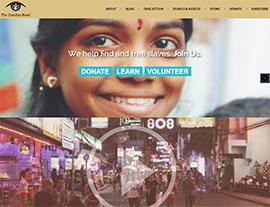 The Exodus Road website screenshot