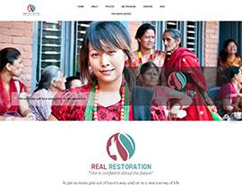 Real Restoration website screenshot